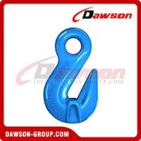 G100 / Grade 100 Shortening Cradle Grab Hook com asas para Chain Slings