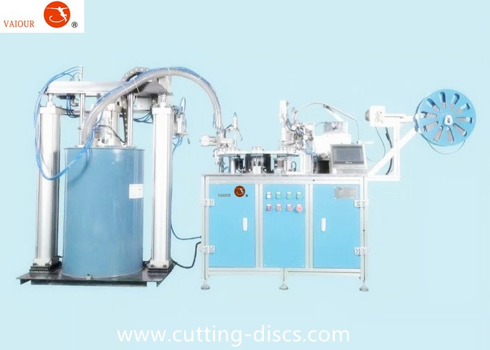 Semi-Automatic Flap Disc Making Machine
