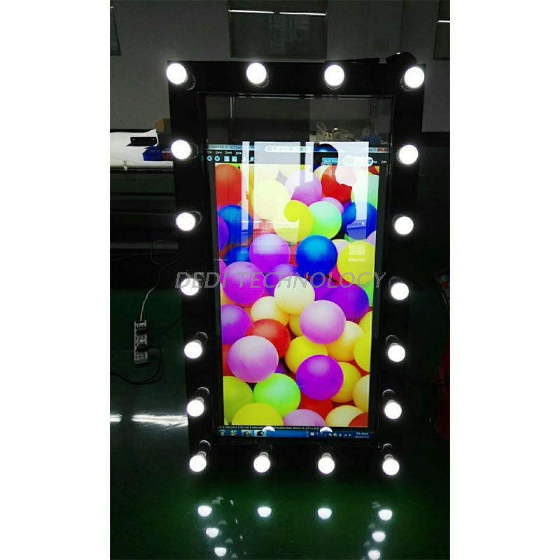 Dedi Wholesale wedding rental photobooth machine magic mirror photo booth