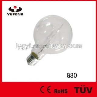 Eco G80 Halogen Bulb with CE / RoHS /TUV /GOST Approved
