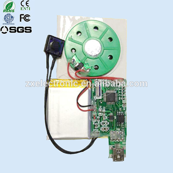 Mini Microphone Voice Recording Playing Module For Talking Gifts
