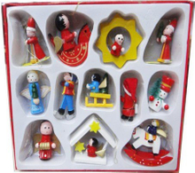 Wooden Christmas Ornaments for Children