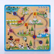 Wooden Kids Toys-Magnetic Puzzle Toys