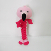Plush Flamingos Shaped Chew Interactive Dog Rope Toy