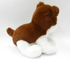 Stuffed Animals Fluffy Brown Puppy Soft Plush Toy Dogs