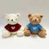 Teddy Bear Dressed Love Sweater Toys for Wholesale Gifts