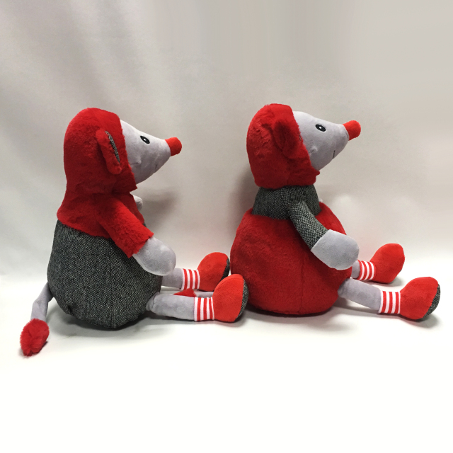 Stuffed Soft Plush Mouses Toy for Valentine Gifts