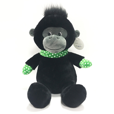 Black Soft Animal Plush Orangutan Monkey Animal Toys