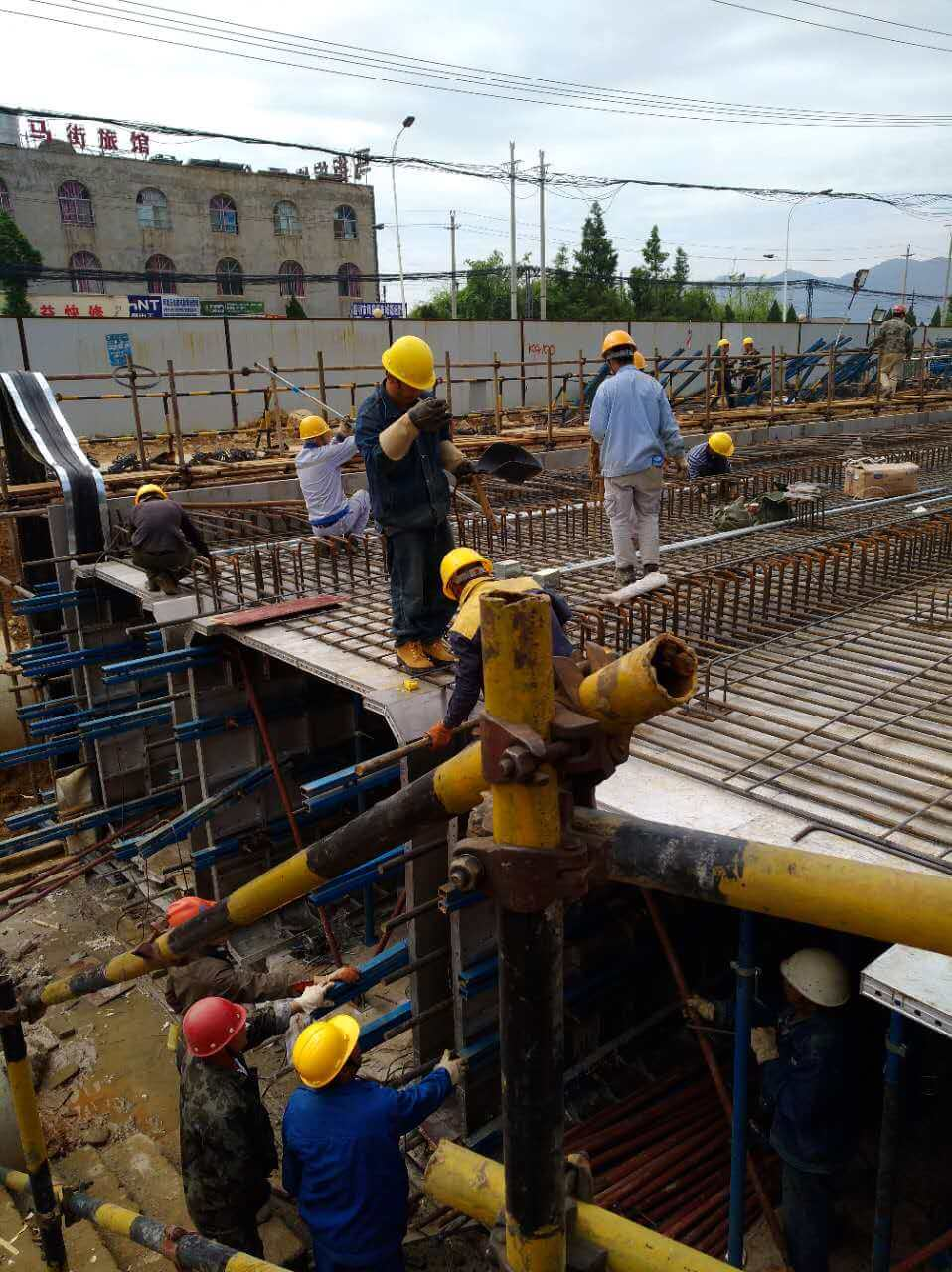 alu-formwork for utility tunnel (6)