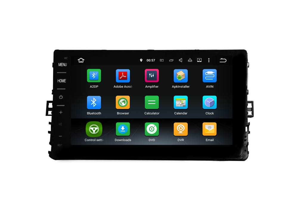 Android 9.0 Car Stereo Toyota Prado 2004 Blue Aay Anti-glare And Anti-glare (optional)