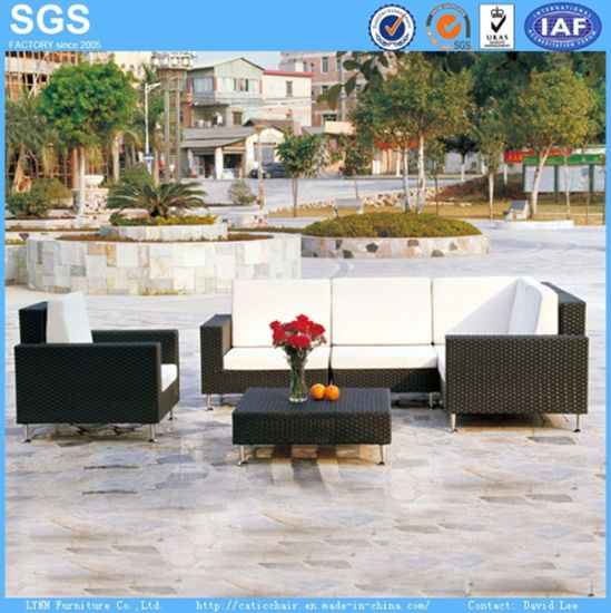 Wicker Furniture Hotel Furniture Outdoor Sofa Set