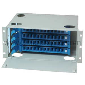 Rack Mount 48 Ports Optical Fiber Distribution Frame