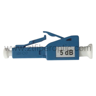 Male to Female 5dB LC Fiber Optic Attenuator