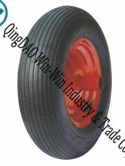 Pneumatic Rubber Wheel Used on Wheelbarrow Tyre