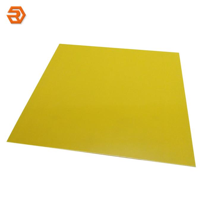 Yellow Epoxy Fiberglass Cloth Laminate Sheet FR4 - Buy FR4