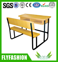modern high quality furniture school desk and chair(SF-46D)