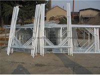 Scaffolding Steel Galvanized Scaffold Frame of Italian Style