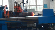 Steel Cylinder Hot Spinning Necking-in Machine