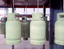 LPG Cylinder Surface Coating Line