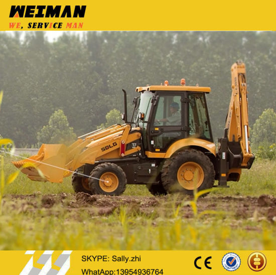 Brand New Sdlg Tractor Backhoe B877 for Sale