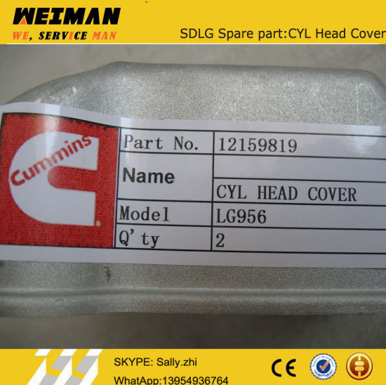 Sdlg Cyl Head Cover 12159819 for Sdlg Loader LG936L
