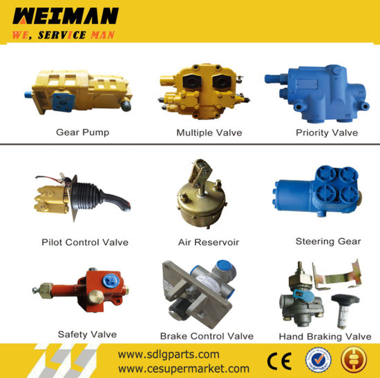 Spare Parts of Sdlg Wheel Loaders