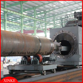 Big Steel Pipe Innerwall Steel Shot Machine