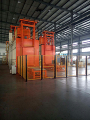 Continuous Solution and Ageing furnace