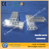 clear double hole quartz tube laser cavity