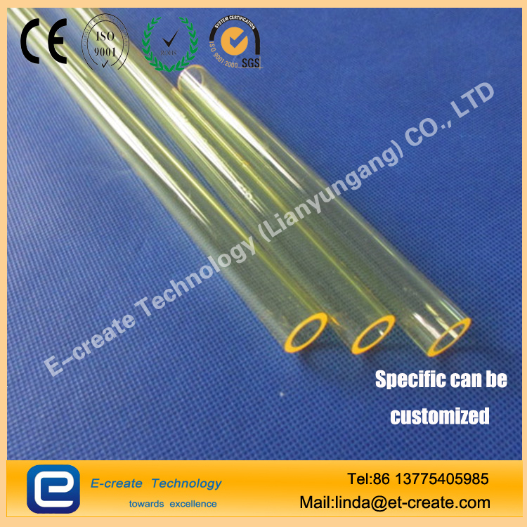 Lamp/Rod Flow Tubes For Helical Lamp Systems