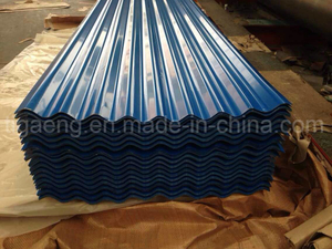 Factory Price Corrugated Colorful PPGI/PPGL Steel Roofing Plate for Yemen