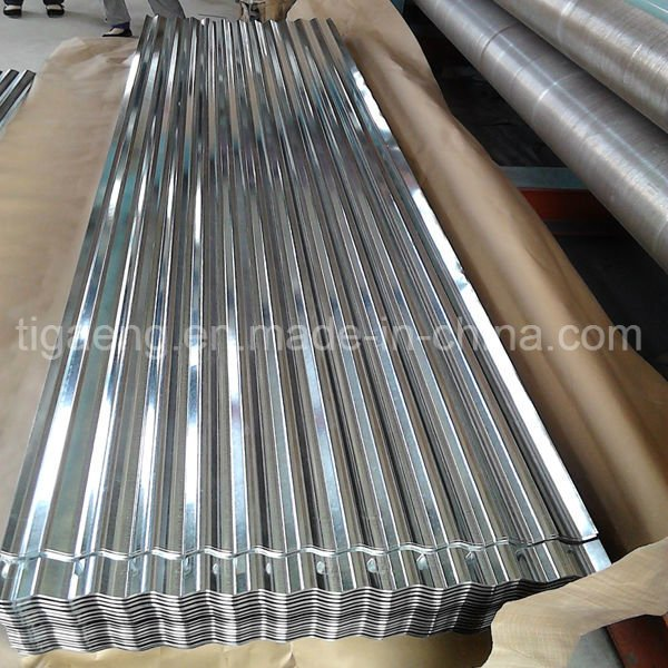 665/800/900mm Corrugated Galvanized Roof Tile/0.13/0.3/0.4mm Metal Roofing