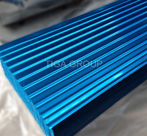 New Roofing Materials Step Tile Color Coated Glazed Steel Sheet