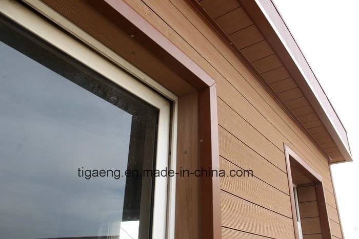Eco Building Material/WPC Exterior Wall Cladding for Old /New Construction