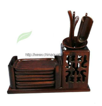 Wooden Tea utensil(6pcs)