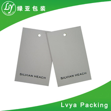 Low Price And High Quality Custom Garment Clothing Brands Tag Lables And Paper Hangtag