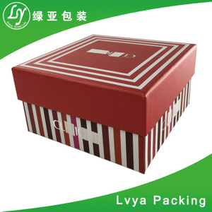 Factory sale top quality packing gift paper box of china exporter