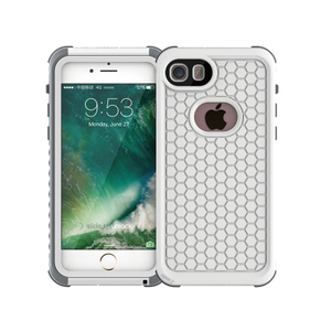 Two-Ways-Use Full Cover Protective Waterproof Cell Phone Housing Case