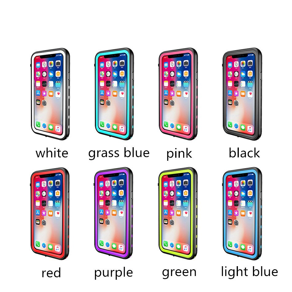 New Arrival Waterproof Cell Phone Case for iPhone X / 10