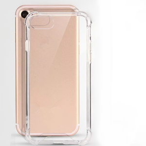 Multi-color Transparent Case Phone Accessories for Samsung TPU+Acrylic Cell Mobile Phone Case for iPhone