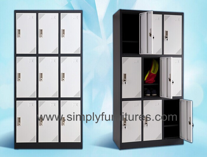 high shcool metal storage wardrobe