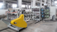 MX-700P Single Layer PP/PS/PE Sheet Extruder