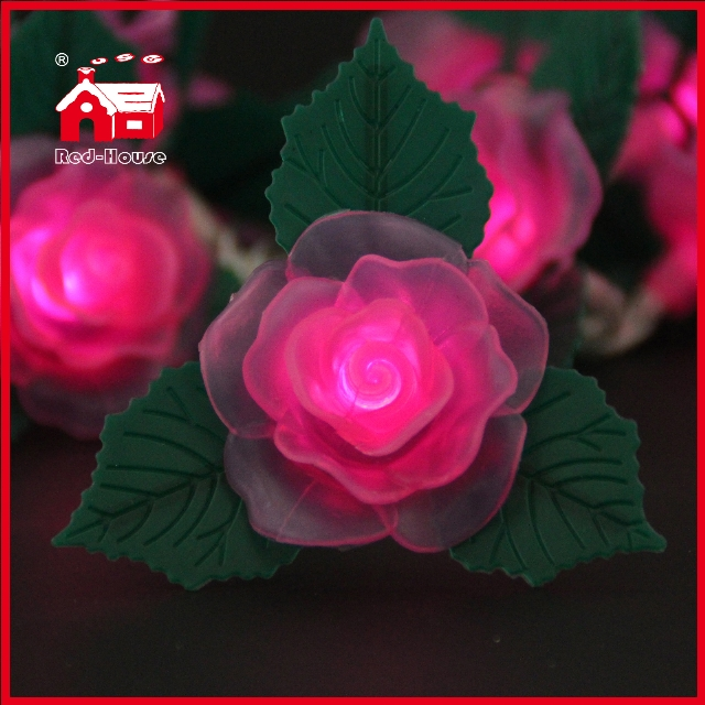 LED Lights LED Battery Light Rose String Light Christmas Holiday Decoration from China ...