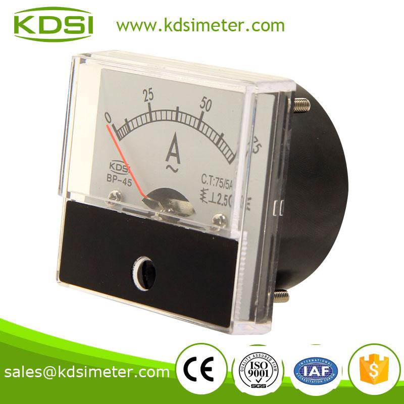 指针式交流电流表 BP-45 AC75-5A-2