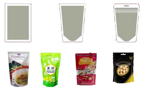granule premade pouch sample