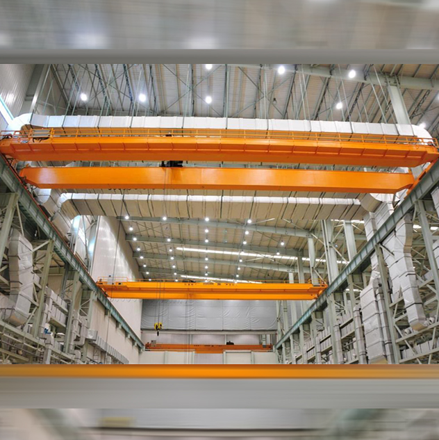 European Type Low Leadroom Double Girder Overhead Crane