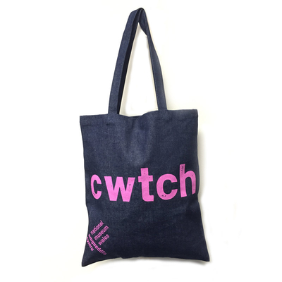 Heavy Cotton Denim Tote Bags