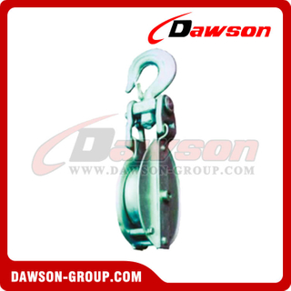 DS-B005 Snatch Block With Hook Self-Locking para Manila Rope