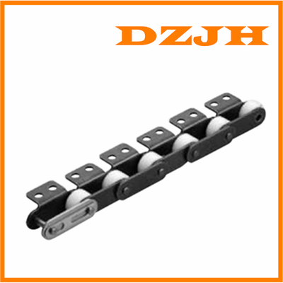 Double Pitch Chain with Large Plastic Rollers
