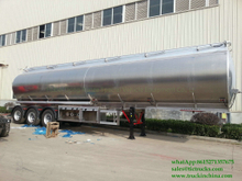 DRZ9400GYYL Aluminum Alloy Oil Tanker Semi-trailer